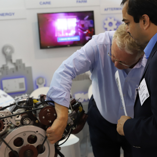 Exhibitors demonstrate new technology at Engine Expo